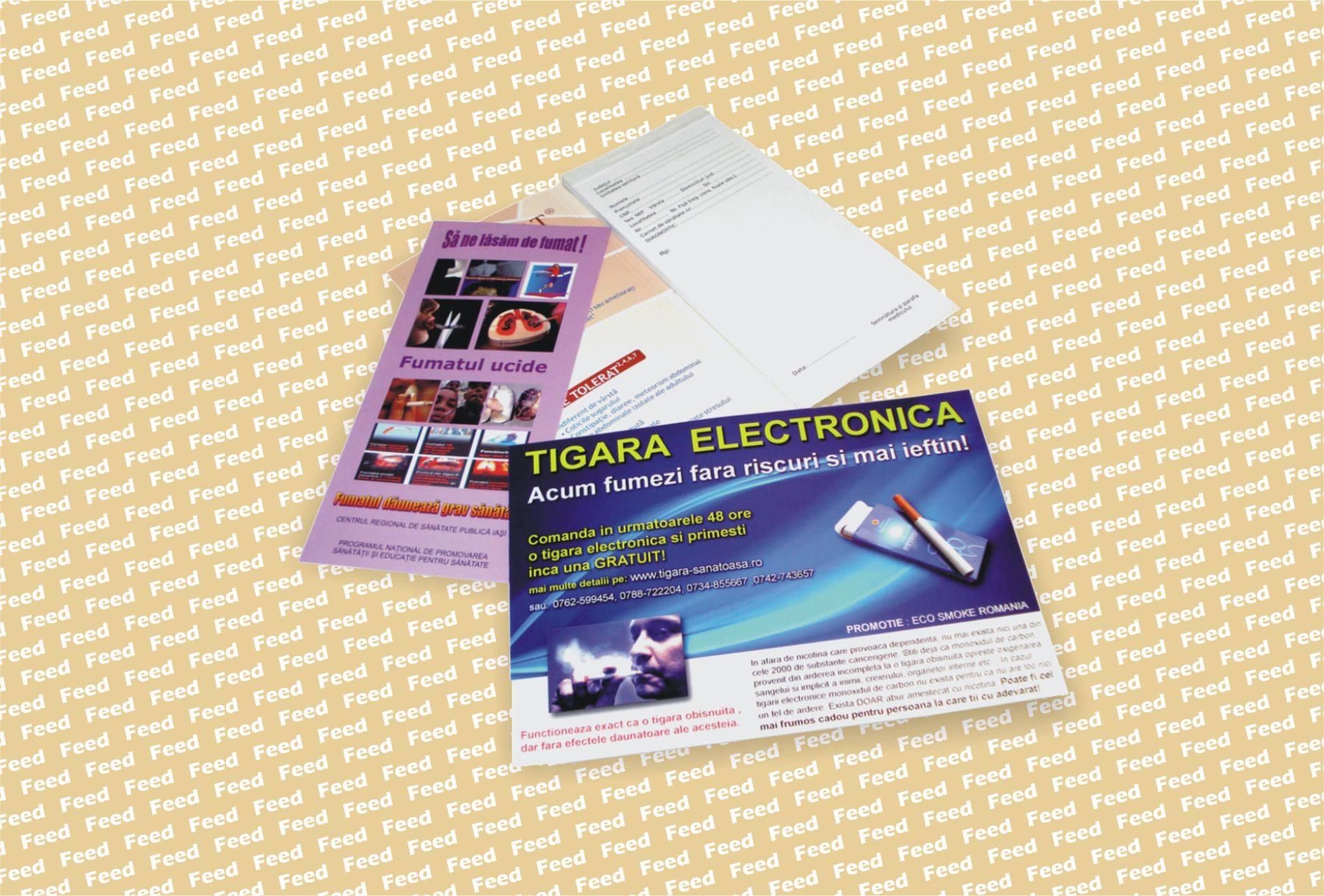 001 Broşuri, carnete, reţetare